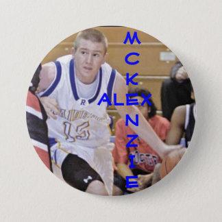 A. McKenzie 15 3 Inch Round Button