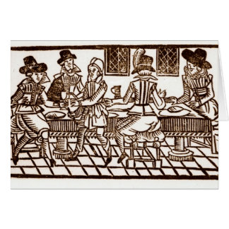 A Meal at the Inn Greeting Cards