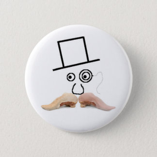 A Meat Mustache Button