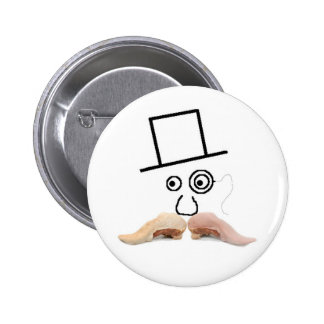 A Meat Mustache Button