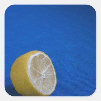 A Mediterranean Lemon Square Sticker