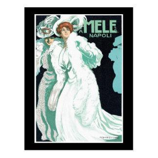 A. Mele & Co. Italian Fashions Postcard