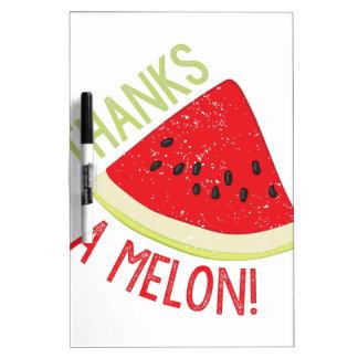 A Melon Dry Erase Board