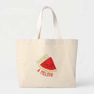 A Melon Large Tote Bag