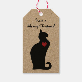 A Meowy Christmas Gift Tags