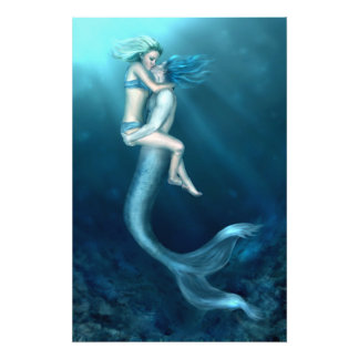 A Merman's Kiss Photo Print