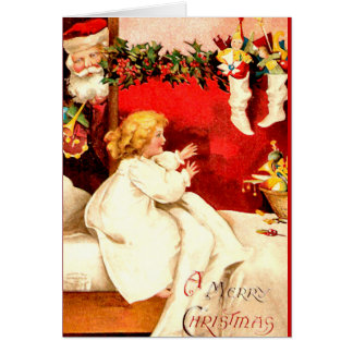 A Merry Christmas Greeting Cards