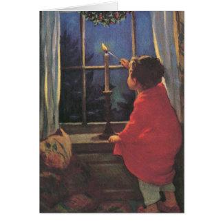 A Merry Christmas Eve by Jessie Willcox Smith Card
