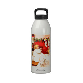 A Merry Christmas Reusable Water Bottles