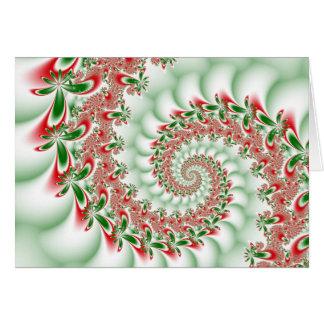 A Merry Fractal Christmas! Card