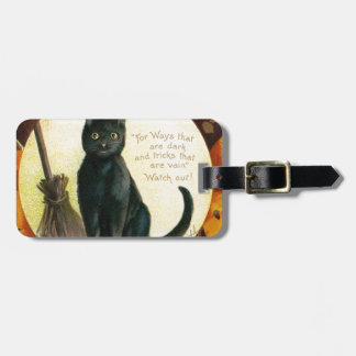 A Merry Halloween - Ellen Clapsaddle Luggage Tag