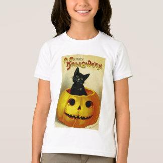 A Merry Halloween Kitten Kid's Tee