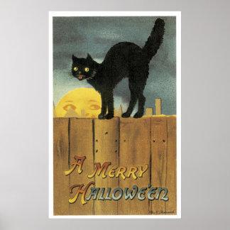 A Merry Halloween Poster