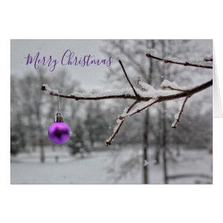 A Merry Little Christmas (Card) Card