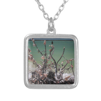 A Merry Milonga Silver Plated Necklace