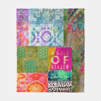 A Mess of Reason,  Fleece Blanket, Medium