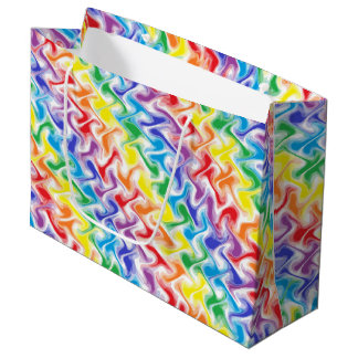 A Messy Rainbow Large Gift Bag