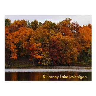 A Michigan Autumn Postcard
