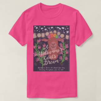 A Midsummer Goat's Dream t-shirt (pink)