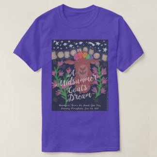 A Midsummer Goat's Dream t-shirt (purple)