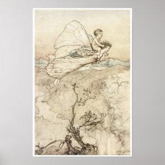 A Midsummer Night's Dream, 1907 Vintage Fairy Art Print