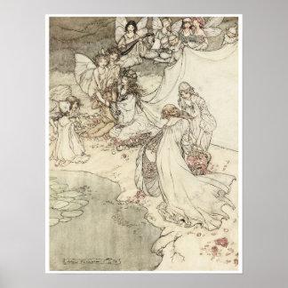 A Midsummer Night's Dream, 1908 Posters