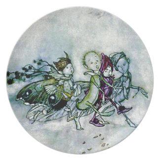 A Midsummer Night's Dream Fairies Dinner Plates
