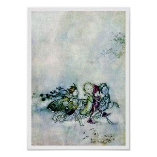 A Midsummer Night's Dream Fairies Poster