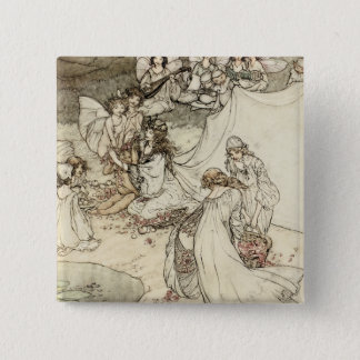 A Midsummer Night's Dream Fairy Pin Back Button