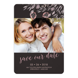 "A Midsummer Night's Dream Wedding Save the Date 5"" X 7"" Invitation Card"