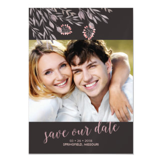 A Midsummer Night's Dream Wedding Save the Date Magnetic Card