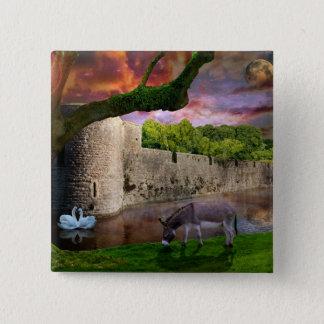 A midsummer's Night Dream 2 Inch Square Button