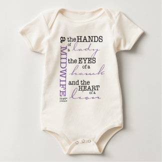 A midwife must possess .... baby bodysuit