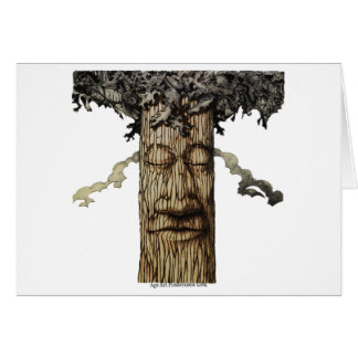 A  Mighty Tree Cover Card