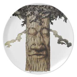 A  Mighty Tree Cover Dinner Plate
