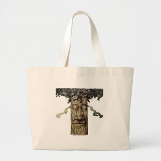 A  Mighty Tree Cover Large Tote Bag