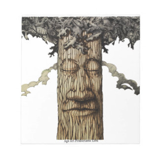 A  Mighty Tree Cover Notepad