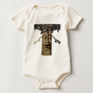 A  Mighty Tree Cover Page Baby Bodysuit