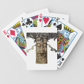 A  Mighty Tree Cover Page Bicycle Playing Cards