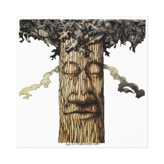 A MIGHTY TREE Cover Page Canvas Print