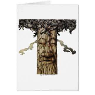 A  Mighty Tree Cover Page Card