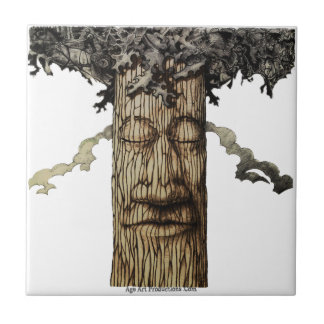 A  Mighty Tree Cover Page Ceramic Tile