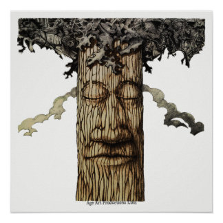 A MIGHTY TREE Cover Page Poster