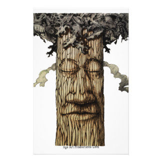 A  Mighty Tree Cover Page Stationery
