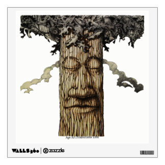 A  Mighty Tree Cover Page Wall Sticker