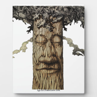 A  Mighty Tree Cover Plaque