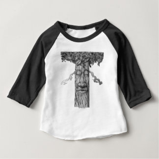 A Mighty Tree Cover &W Baby T-Shirt