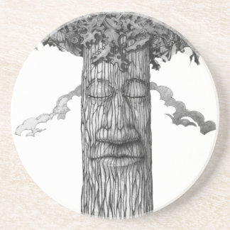 A Mighty Tree Cover &W Coaster