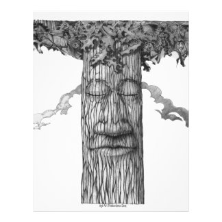 A Mighty Tree Cover &W Letterhead