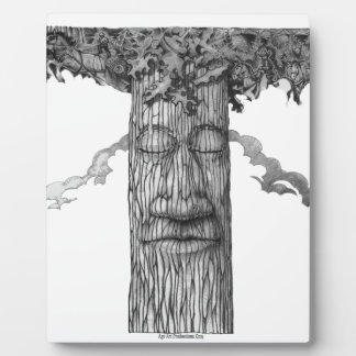 A Mighty Tree Cover &W Plaque